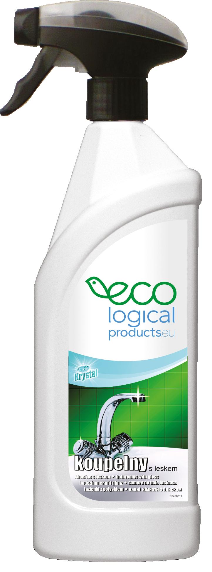 Díky ECO výrobkům je vodní kámen v koupelně minulostí a za skvělou cenu