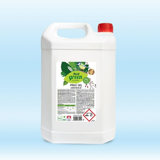 Real green clean prací gel 5 l