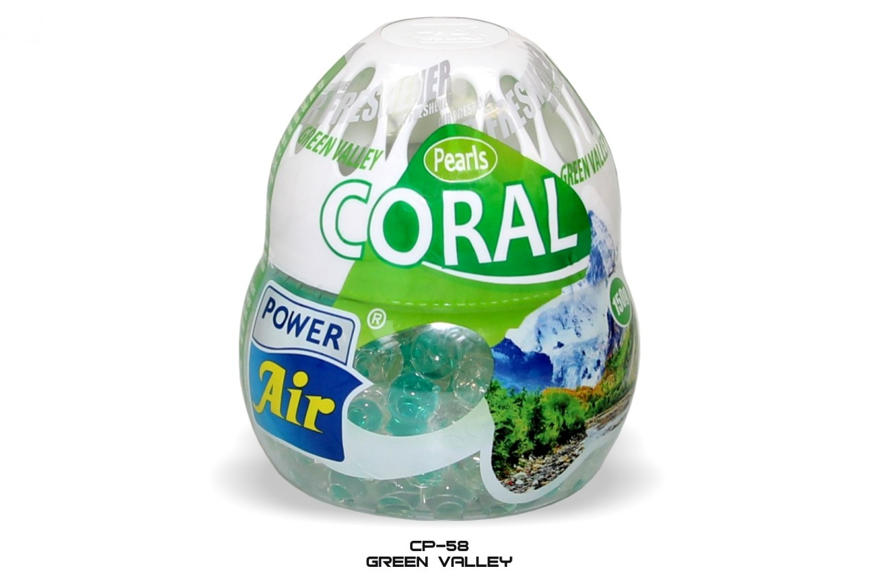 Gelová vůněCoral Pearls 150 g  - Green Waley