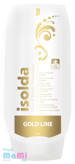ISOLDA Hair & Body GOLD tělový a vlasový šampón 500 ml